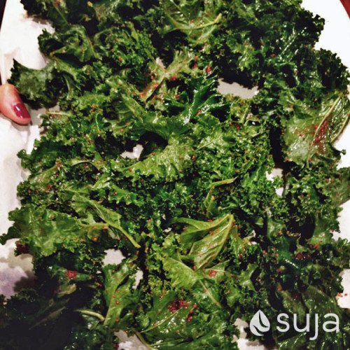 Cinnamon Sugar Kale Chips