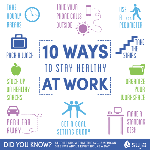 best tips to stay healthy while on the job