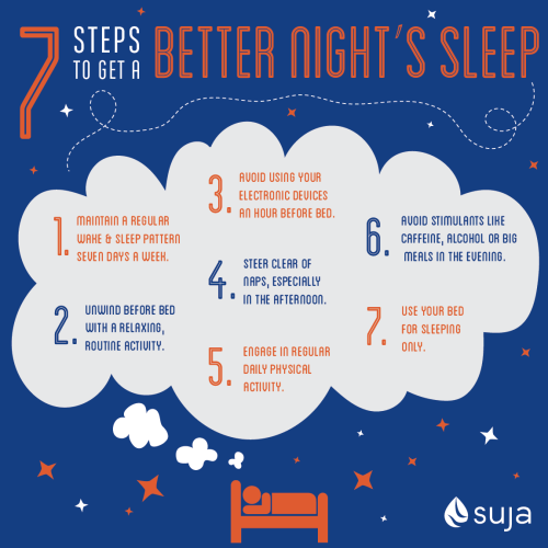 Suja Steps To Better Sleep