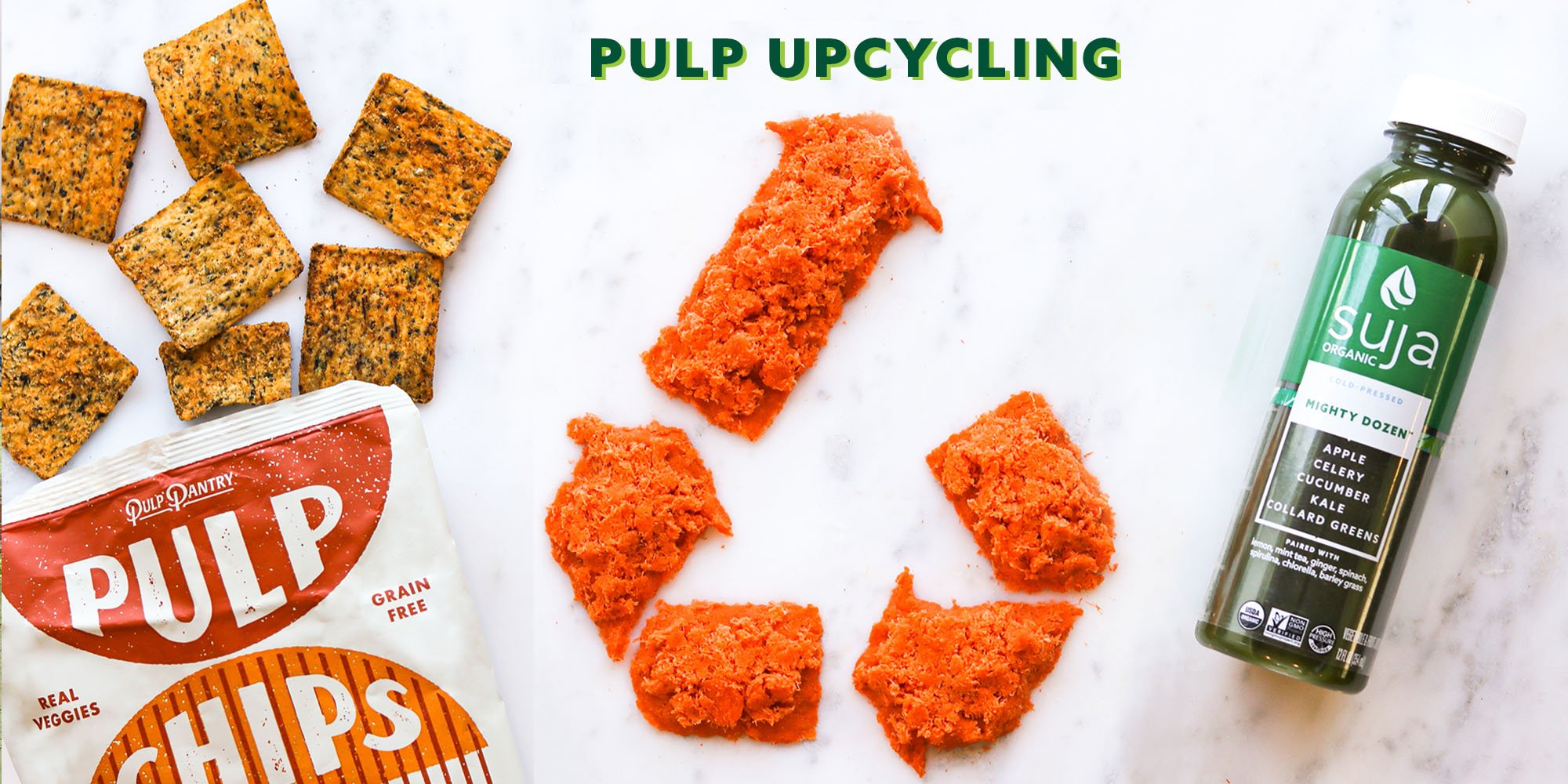 Pulp Upcycling